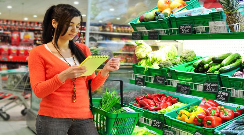 ціни в супермаркеті