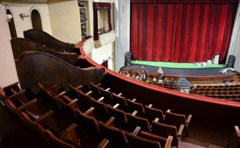 театр Заньковецької всередині