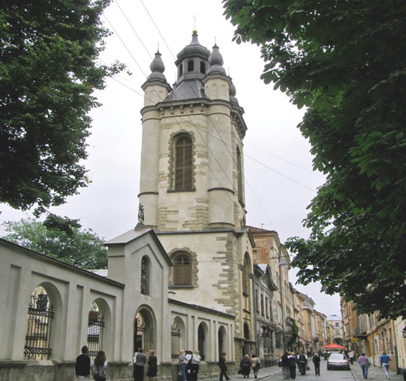Вірменська церква Львів