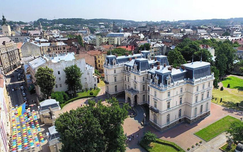Палац Потоцьких Львів