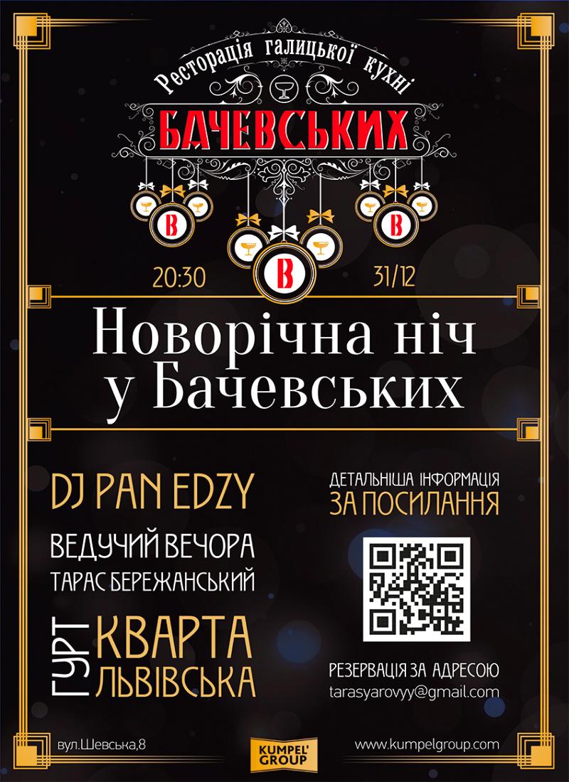 Новий рік в Бачевські
